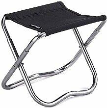 WGFGXQ Chaise de Camping Pliante Tabouret Pliant