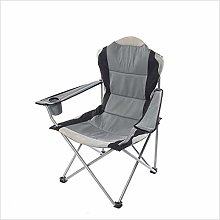 WGFGXQ Confortable Chaise Pliante en Métal Pieds
