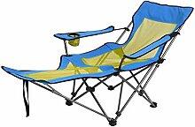WH-IOE Chaise longue pliante pour la plage, le