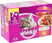 Whiskas Senior 7+ Casserole Classic Sélection à
