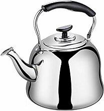 Whistling bouilloire à thé, grande capacité en