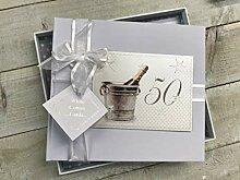 White Cotton Cards 50e Anniversaire, Livre
