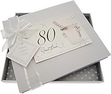 White Cotton Cards 80e Anniversaire, Livre