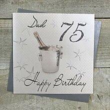 White Cotton Cards wbs75 d Motif Seau à Champagne