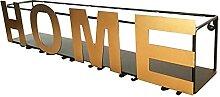WHOJS Casier à Vin Support Mural en Métal