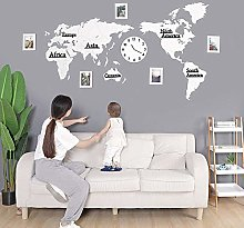 WHR-GZ Horloge Murale Design Moderne, Horloge en