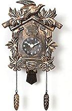 Whyzb Horloge à Coucou Cuckoo Horloge Salon Salon