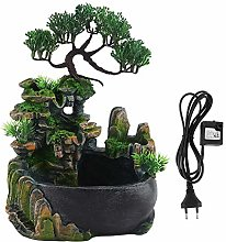 Wifehelper Mini Fontaine Cascade, Petite Roue de