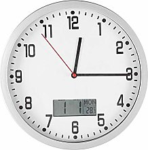 Wifehelper Multifonctionnel Horloge Murale Moderne
