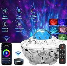 Wifi Smart Projecteur Ciel Étoile, Amouhom