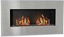 Wikao Firenox XL - INOX brossé, cheminée