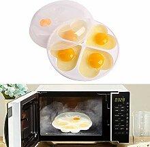 WIKEA Micro-ondes Pocheuse à œufs, Broyeur