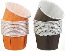 Wilton 415-0513 Caissette à Cupcake, Orange et