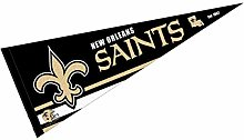 WinCraft New Orleans Saints Pennant Banner Flag