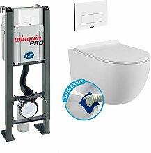 Wirquin - Pack Complet WC Sans Bride Bati
