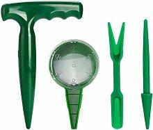 Wisolt Lot de 4 mini outils de jardinage pour