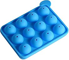 WJCRYPD Moule en Silicone 12 Trous Ronds Silicone