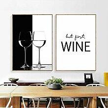 WKHRD mais Premier vin Citation Bar Art Mural