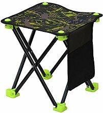WLDSW Extérieur Chaise de pêche Portable léger
