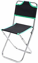 WLDSW Portable Pliable Chaise pêche Camping