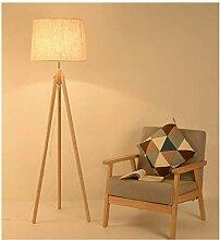 WLP-WF Lampe de Salon En Bois Massif Triangulaire