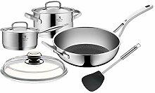 WMF Gourmet Plus Lot de 5 casseroles avec