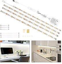 Wobsion Bande LED de 2 m - Éclairage sous meuble