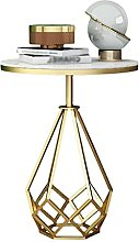 WODMB Canapé-côté Side Table Lumière Moderne
