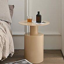 WODMB Table de Chevet de Fer à Coucher Chambre à
