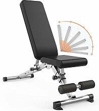 WOERD Banc De Musculation Pliable Multifonction