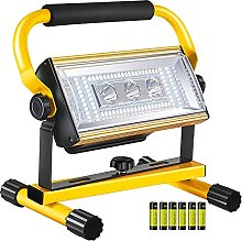 WOERD Projecteur LED Portable, 100W Projecteur LED