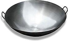 Wok Traditionnel,Pot à fond rond Chinoise non