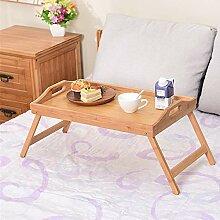 wolfjuvenile Table Ordinateur Portable en Bambou