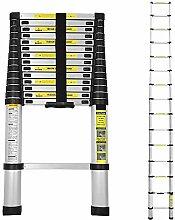 wolketon 4.4m Échelle Télescopique en Aluminium