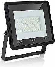 wolketon 50W Projecteur LED Detecteur de Mouvement