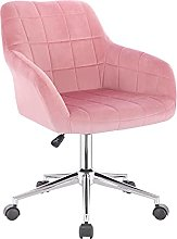 WOLTU 1 X Chaise de Bureau à roulettes,Tabouret