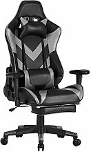 WOLTU BS20gr Chaise Gaming Fauteuil Gaming avec