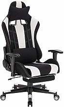 WOLTU BS98ws Racing Chaise Fauteuil Gaming Chaise