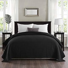 WOLTU Couvre-lit Couverture de lit rembourré et