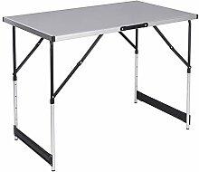 WOLTU® CPT8121gr Table de Camping Pliante Table