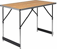 WOLTU® CPT8121hei Table de Camping Pliante Table