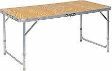 WOLTU® CPT8122hei Table de Camping Pliante Table