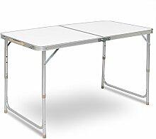 WOLTU® CPT8122sg Table de Camping Pliante Table