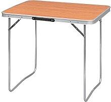 WOLTU CPT8128ei Table de Camping Table Pliante en