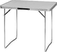 WOLTU CPT8128gr Table de Camping Table Pliante en