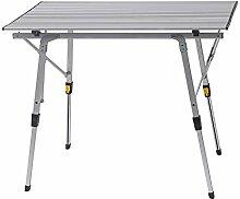 WOLTU CPT8129sb Table de Camping Pliante Pliable