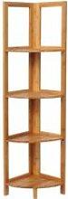 WOLTU Etagère en bambou,Etagère de salle de