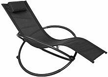 WOLTU LS002sz Chaise Longue Pliable Bain de Soleil