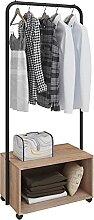 WOLTU SR0061hei Porte-manteau matière en métal