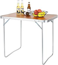 WOLTU Table de Camping Pique-Nique Pliante - Table